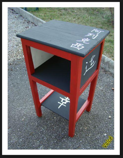 chevet chinois. Black Bedroom Furniture Sets. Home Design Ideas